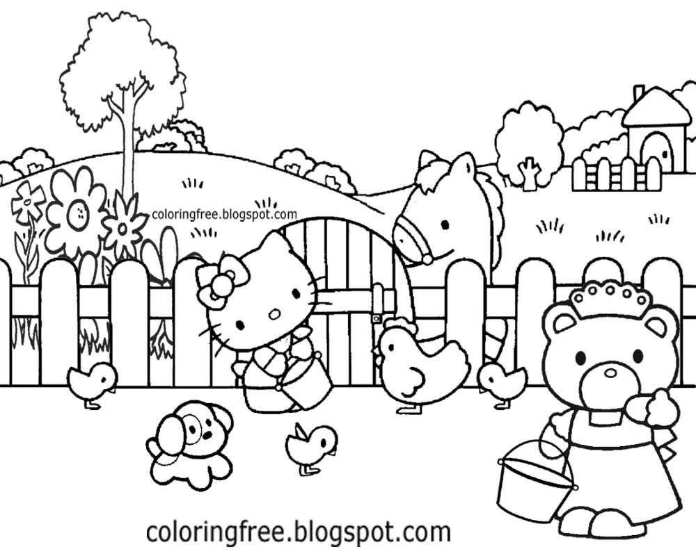 Geography Field Coloring Coloring