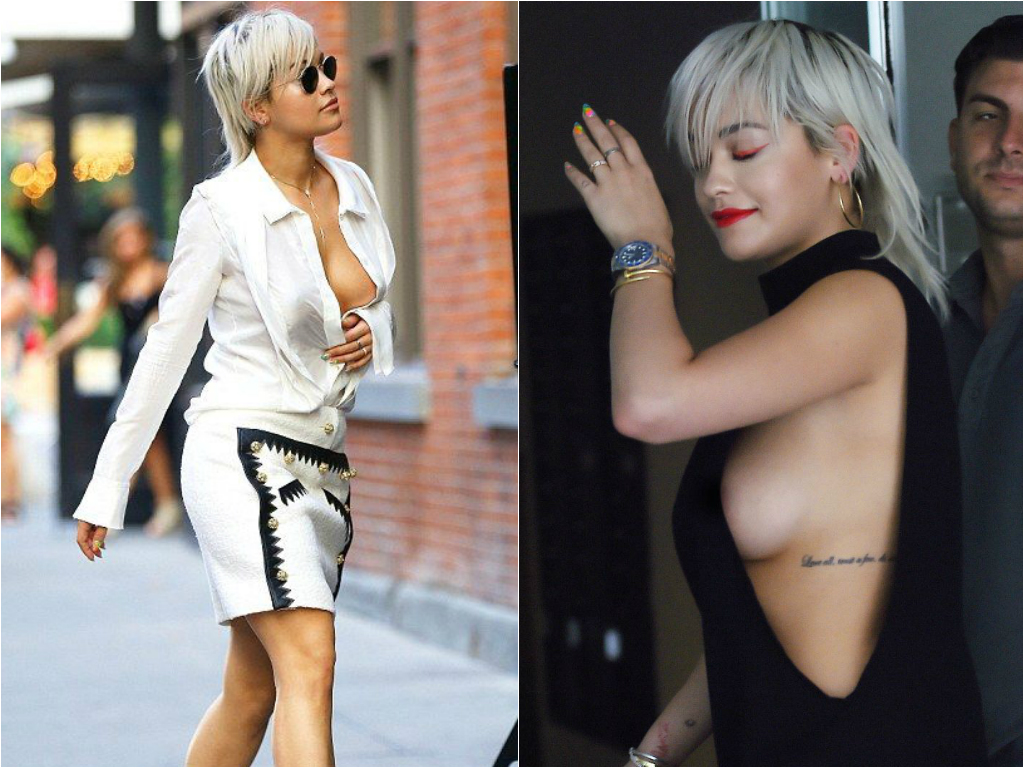 50 Times Celebs Went Braless - Stars who go braless 3