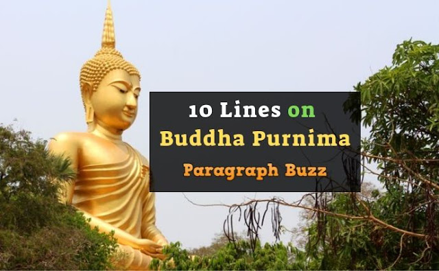 10 Lines on Buddha Purnima in English