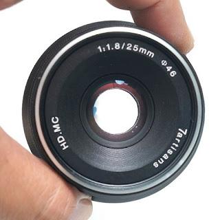 Lensa 7 Artisans 25mm f1.8 For Fujifilm