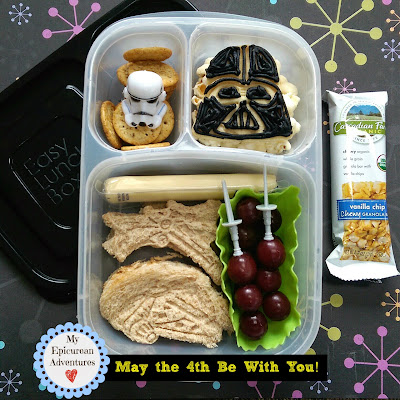 My Epicurean Adventures: May the 4th Be With You 2015! Star Wars Day lunch in @easylunchboxes