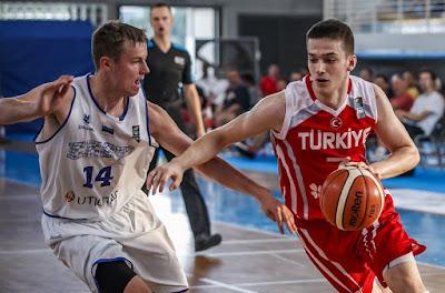 FIBA U16 Europe - Batın Tuna - Türkiye - Estonya