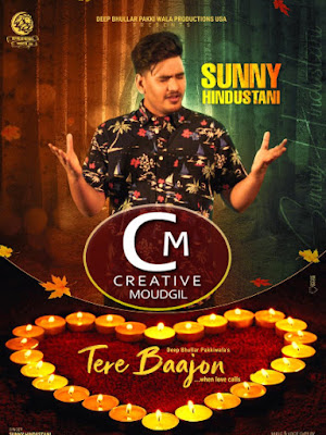 Sunny Hindustani New Punjabi Songs 2020 Tere Bajoon Online Song Promotion By Creative Moudgil