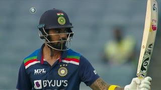 KL Rahul 62* vs England Highlights