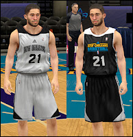 NBA 2K13 New Orleans Hornets Practice Jersey Patch