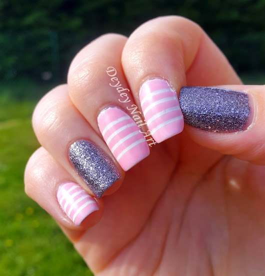 "Nail Art "" Girly Paillettes """