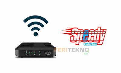 mengganti password wifi speedy