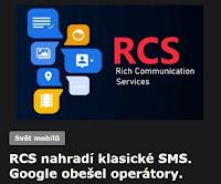 RCS nahradí klasické SMS. Google obešel operátory.
