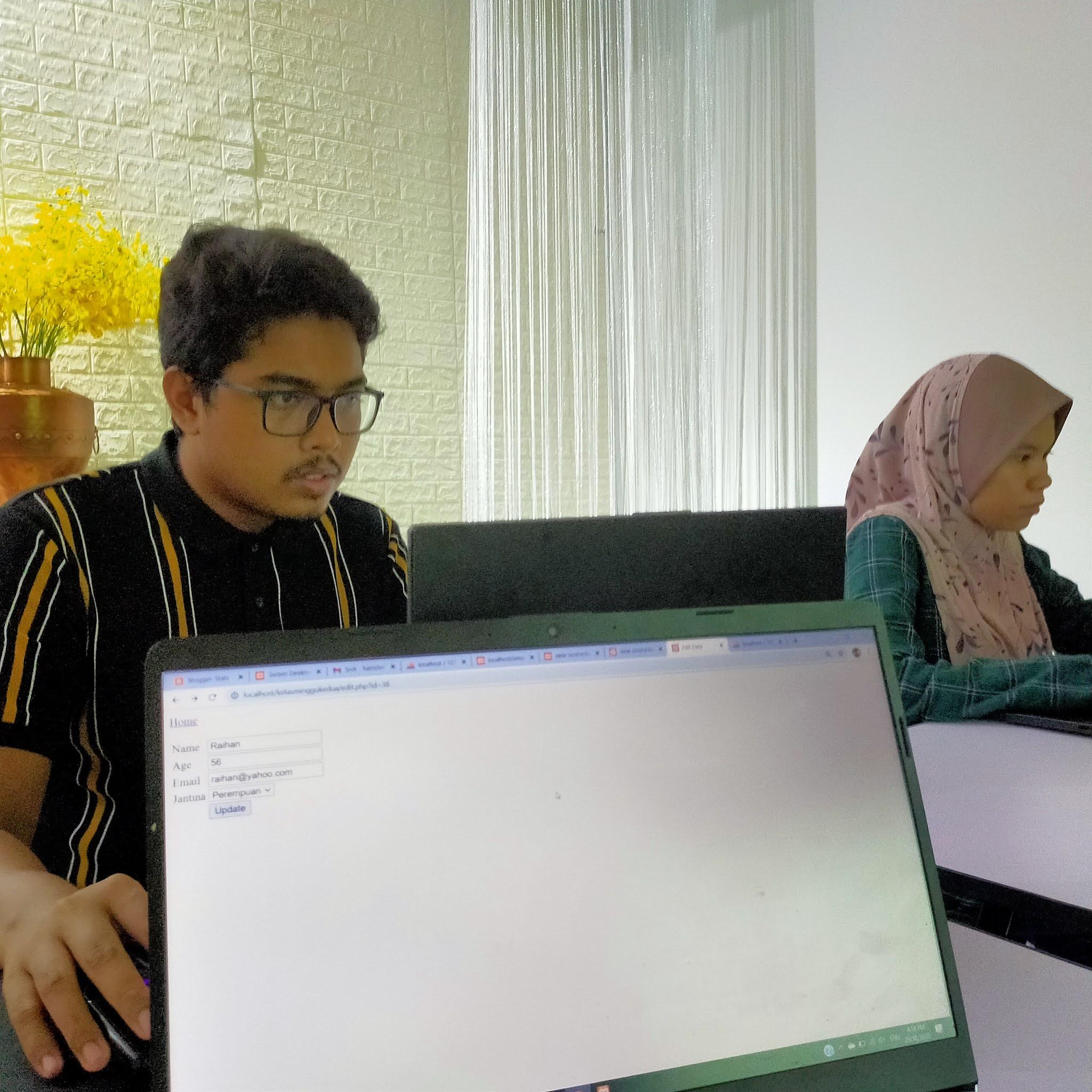 Minggu Kedua Kelas Pembangunan Laman Web