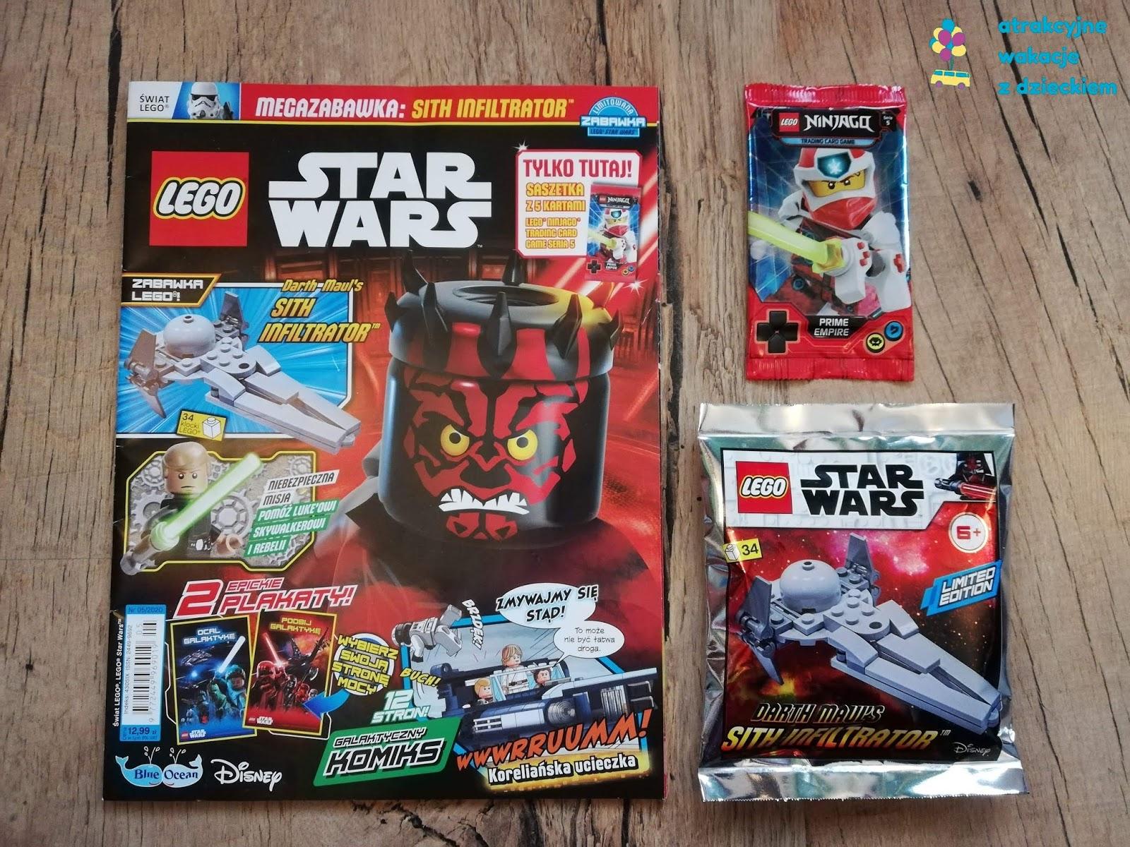 Gazetki z dodatkami LEGO