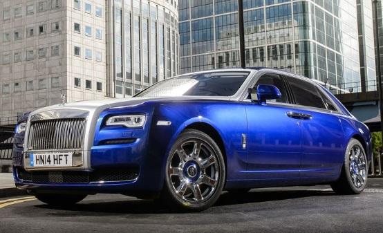 Rolls-Royce Ghost Extended wheelbase: $350.500