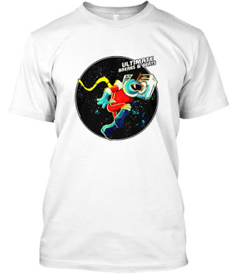 Ultimate Breaks and Beats Tee - Spaceman