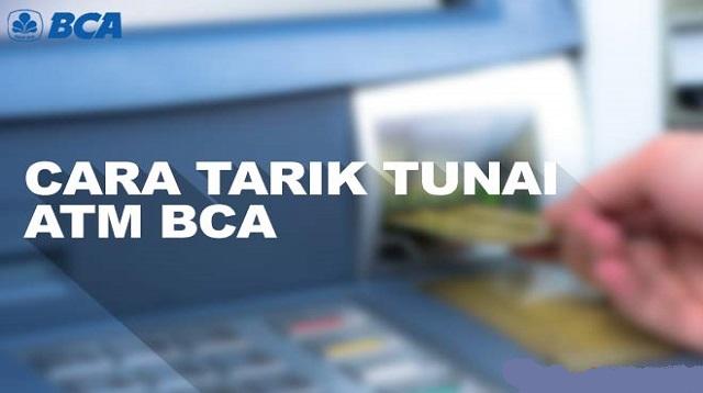 Cara Tarik Tunai BCA