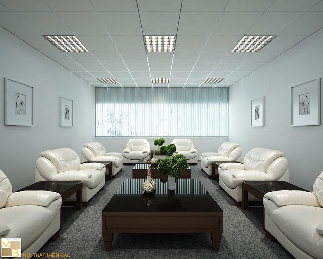 Thiết kế nội thất phòng khánh tiết sử dụng nội thất chất lượng cao cấp, hiện đại với mẫu mã sang trọng