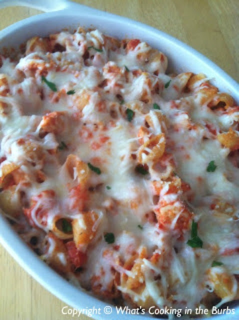 Chicken Parmesan Casserole | Weight Watchers Recipe