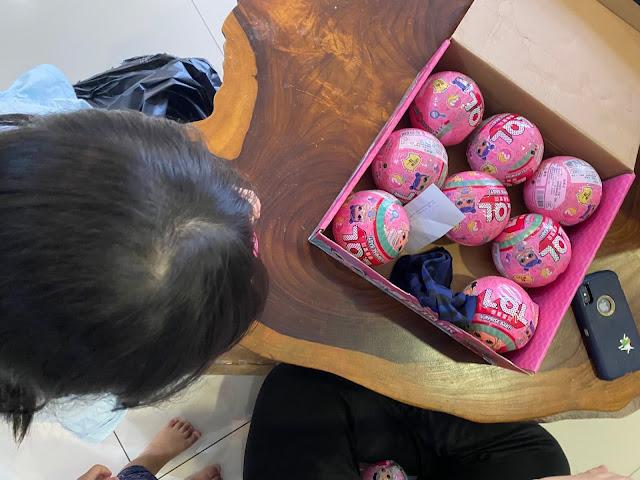 LOL surprise eggs