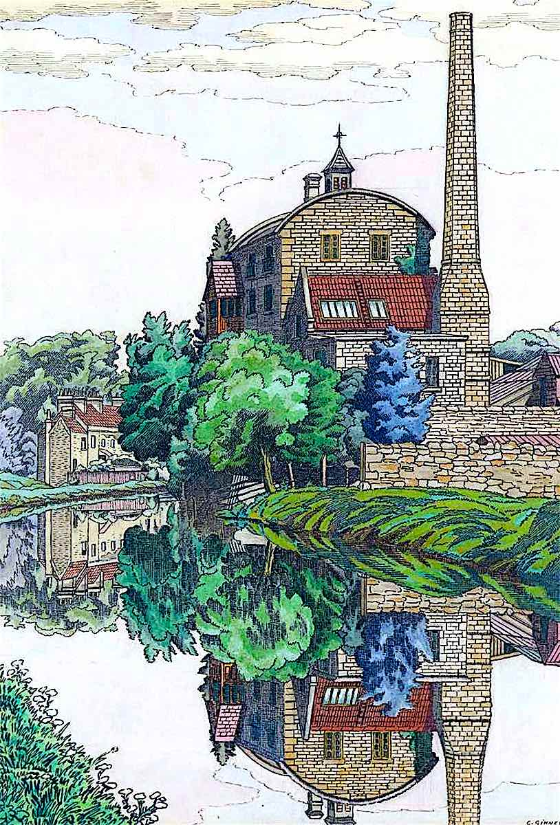 a Charles Ginner painting