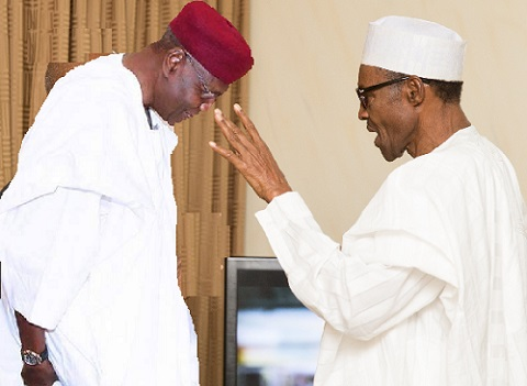 Image result for vice president, Chief of Staff, Abba Kyari waiting for the president to land