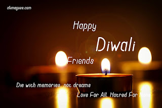happy diwali with frnds quotes