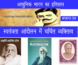 Famous personalities of india in hindi for mppsc exams