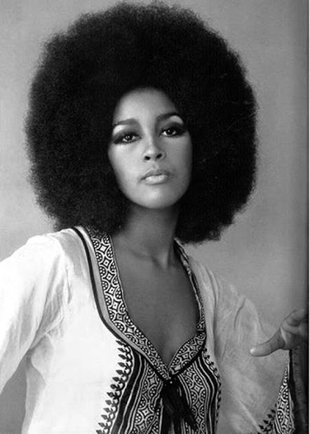 afro popular hairstyle of