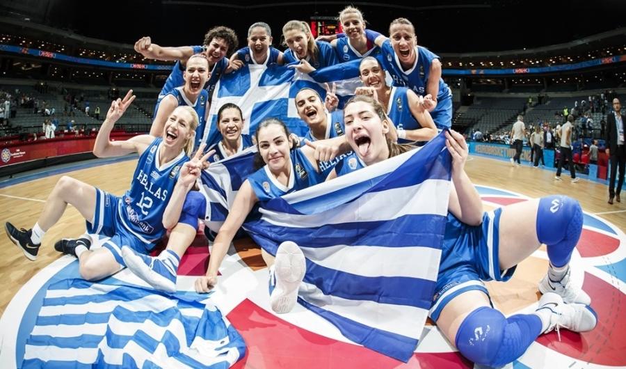 Εποποιία της Εθνικής γυναικών στην Πράγα Σάρωσε την Τουρκία 84-55 και πήγε τετράδα και παγκόσμιο !!!