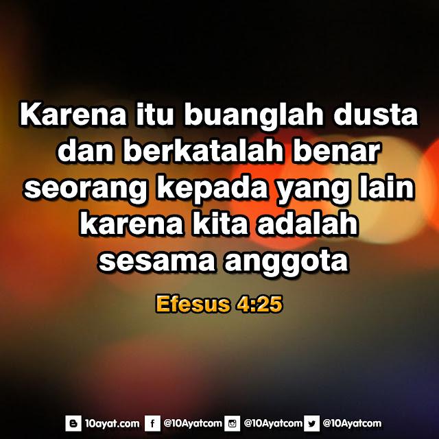 Efesus 4:25