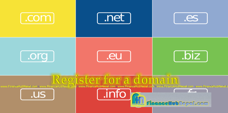 Register for a domain