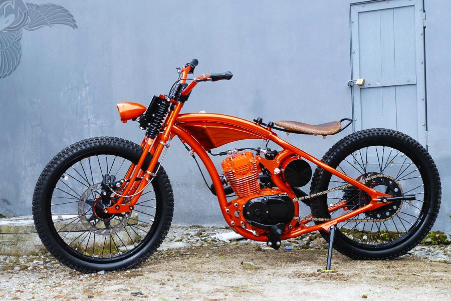 honda cb100 chopper | dariztdesign