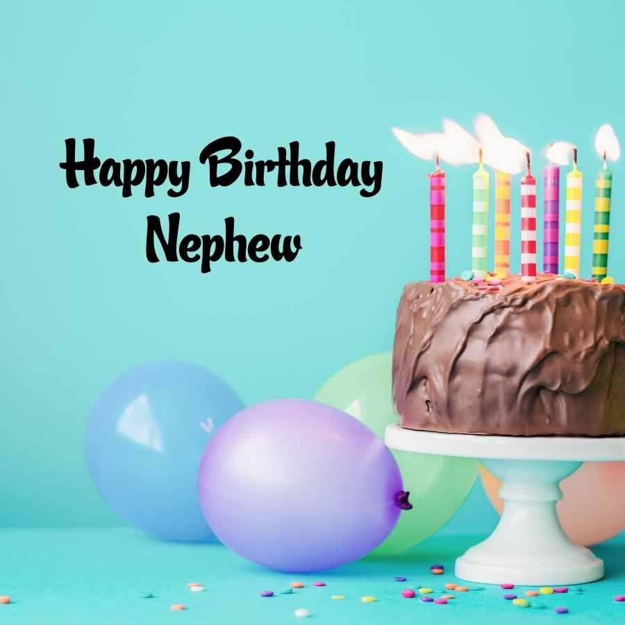 happy birthday my handsome nephew