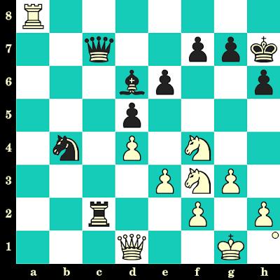 Les Blancs jouent et matent en 2 coups - Jesus Nogueiras vs Lev Polugaevsky, Moscou, 1990