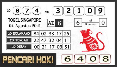 Pred Pencari Hoki Group Forum SGP Rabu 04-Agustus-2021