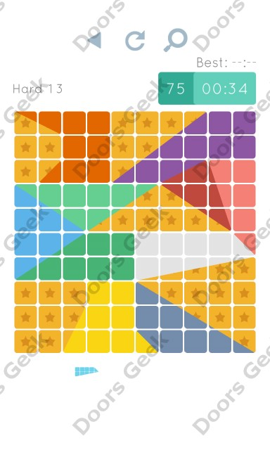 Cheats, Walkthrough for Blocks and Shapes Hard Level 13