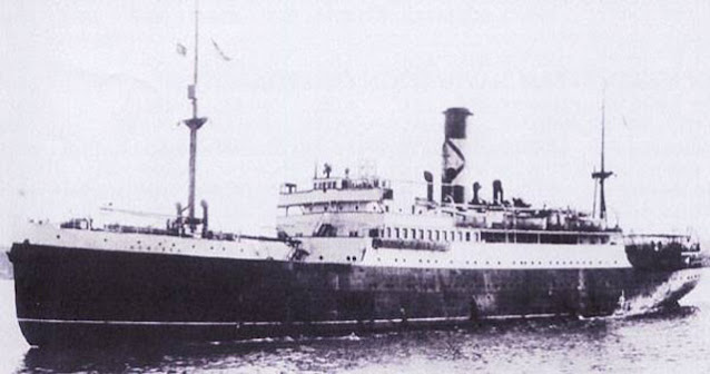 SS Nerissa, sunk on 30 April 1942 worldwartwo.filminspector.com