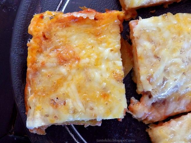 Πίτσα με βάση πατάτας