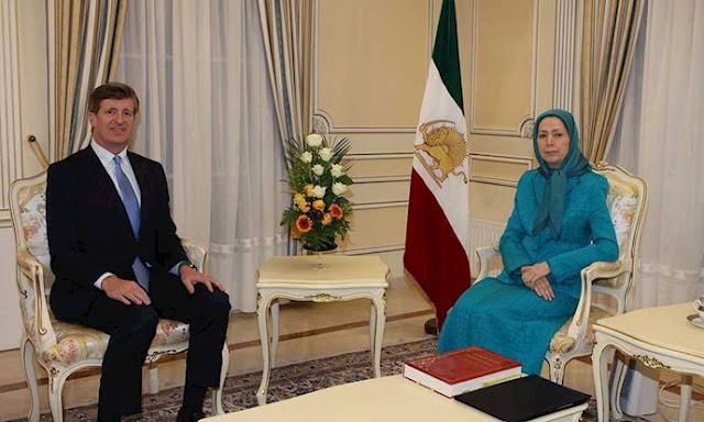 Maryam Rajavi &former U.S. congressman Patrick Kennedy
