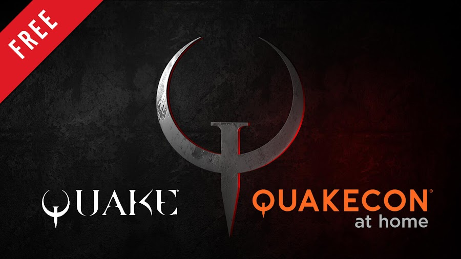 quake and quake 2 free pc game bethesda.net quakecon at home event 2020 first-person shooter