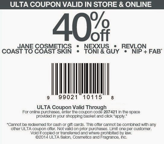 Ulta Printable Coupons May 2018