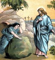 Jesus triumphs over death