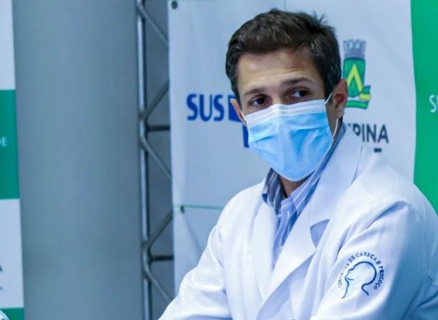 """""""Após 21 dias muito difíceis"""", Campina superou pior fase da pandemia, diz diretor do Pedro I"""