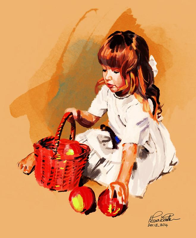 Beautiful Art Works by Iranian Artist Mohammad Feizabadi