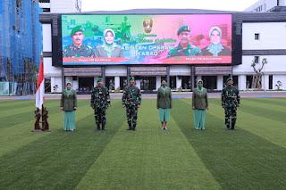 Kasad Pimpin Sertijab Empat Pejabat TNI AD