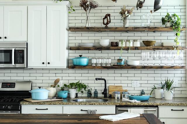 Keramik Motif Batu Alam Untuk Dinding Dapur