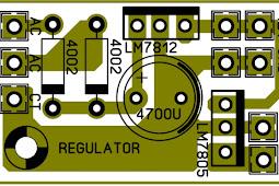 Cara Membuat Regulator Dc 12Volt dan 5 Volt