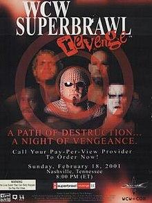 WCW Superbrawl Revenge 2001 - Event poster
