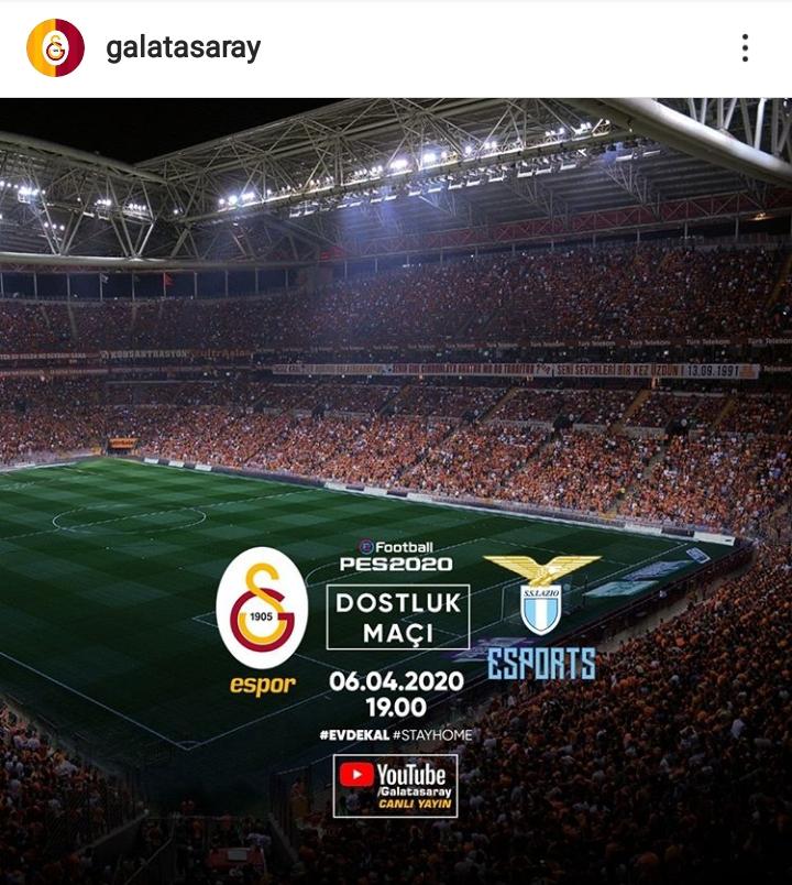Galatasaray Espor Lazio FIFA20