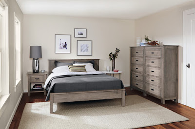 Contemporary bedroom layout design