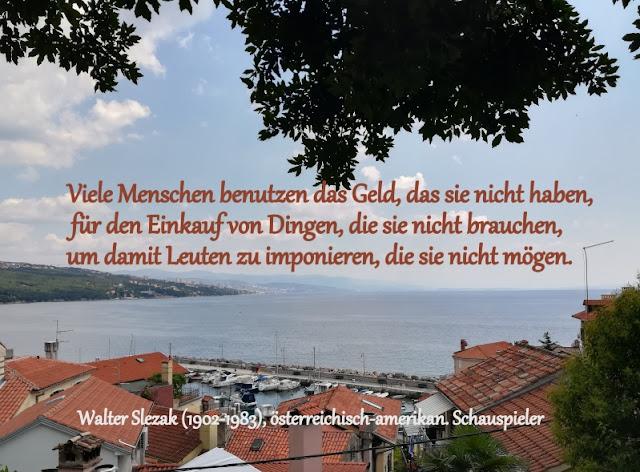 Zitat - Quote: Walter Slezak