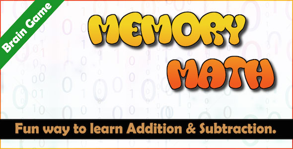 Memory Math - A Brain Training Game (Android) - Codelistnull