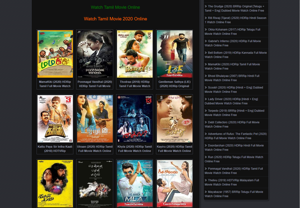 tamilmovies website